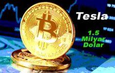 Tesla' dan Bitcoin'e 1.5 Milyar Dolarlık Yatırım